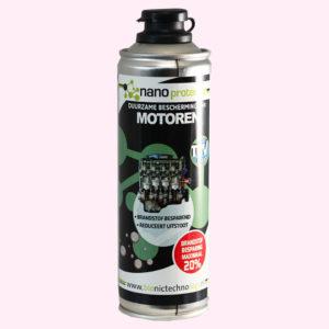 nano protector motoren laat de motor onderdelen soepel draaien